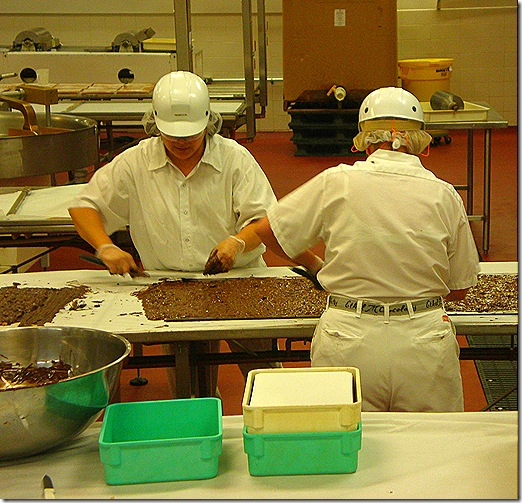 Candy workers