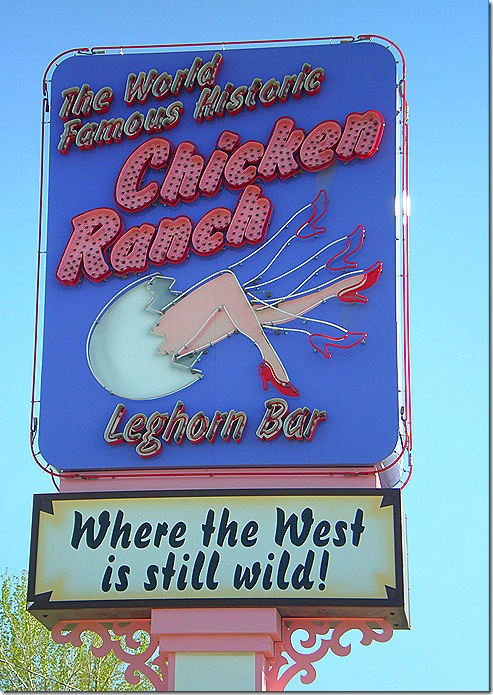 Chicken Ranch sign 2