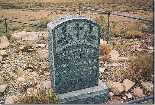 Canyn diablo Hermann Wolf grave best
