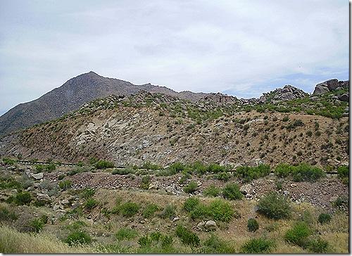 Desert rock scenery best