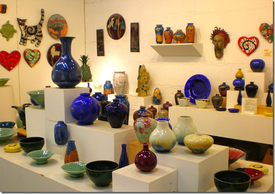 Harmony pottery display