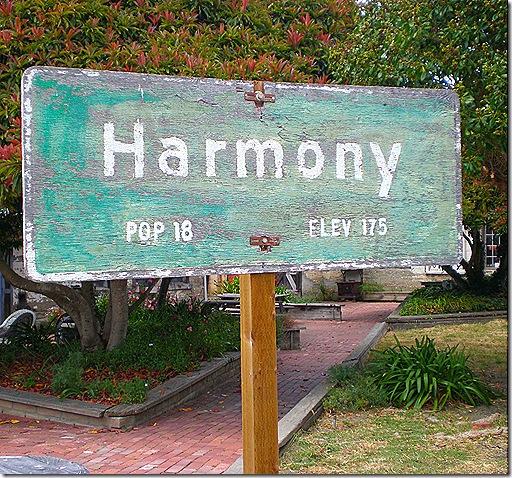 Harmony sign