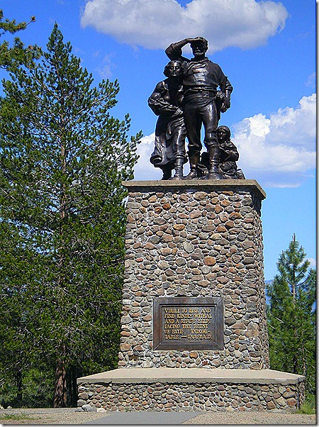 Donner party monument 4