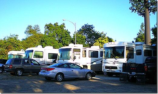 Gilroy Elks RV parking