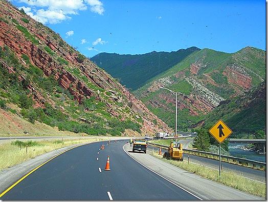 Interstate 70 Colorado road construction