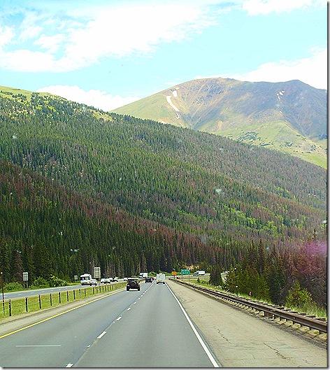 Interstate 70 downhill 6
