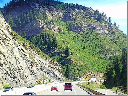 Interstate 70 downhill