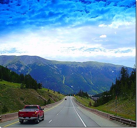 Interstate 70 downhill eastbound 3