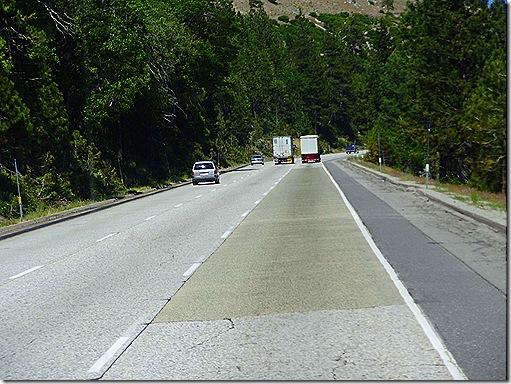 Interstate 80 across Sierras