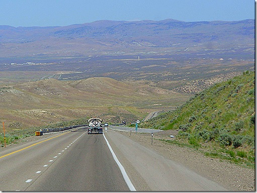 Steep Nevada hill 2