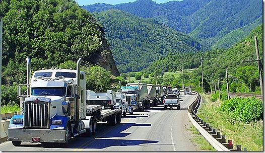 US 6 Utah construction zone backup 2