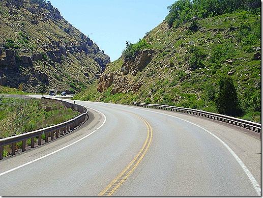 US 6 Utah twisty road