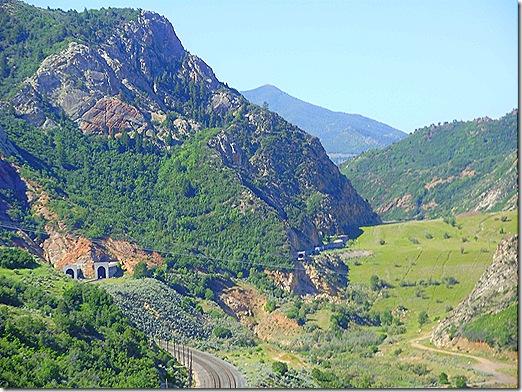 Utah railroad tunnel 2