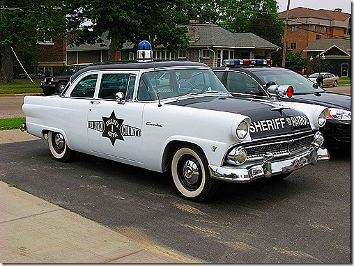 Old Sheriffs Car e