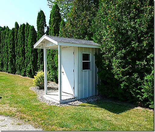 Amish phone booth