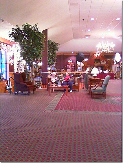 Shady Maple lobby 2