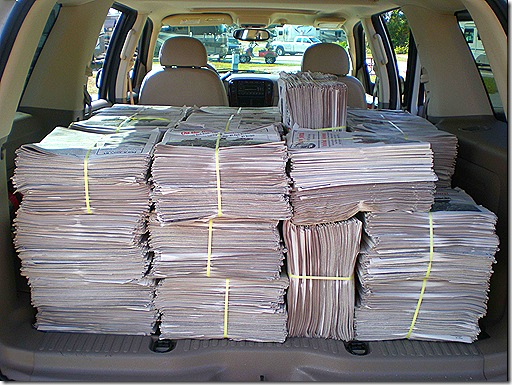 Papers in back 2