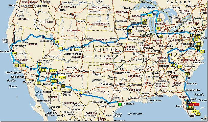 Another One Bites The Dust Gypsy Journal RV Travel Newspaper – Travel Map Of Us