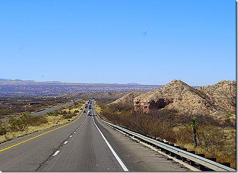 Arizona downhill grade I 10 2