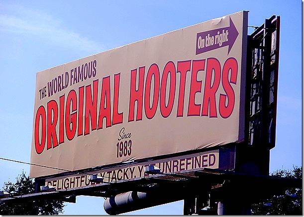 Original Hooters sign
