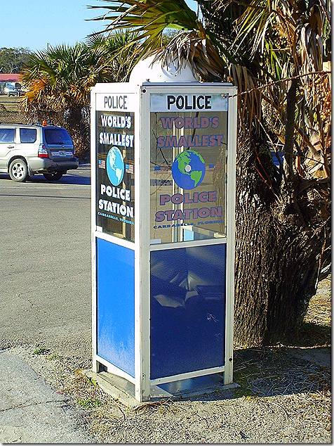 Police phone booth 2