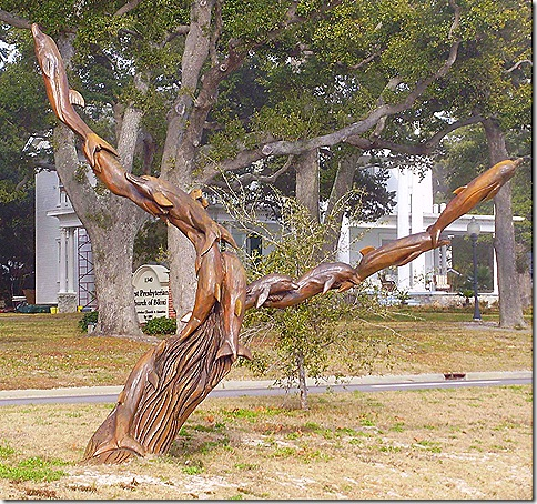 Tree sculpture 6