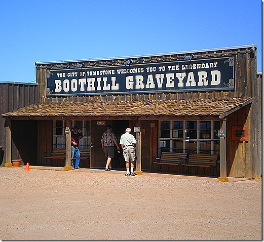 Boot Hill entrance