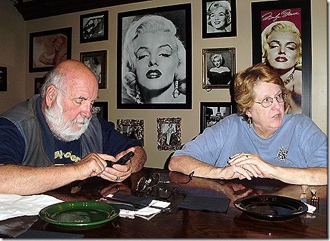 Greg and Jan at Da Boyz