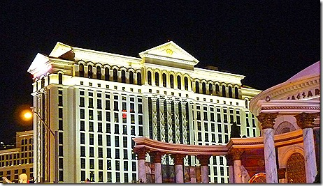 Ceasars Palace tower