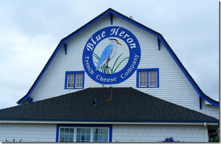 Blue Heron Cheese building