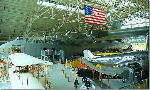 Spruce Goose overhead