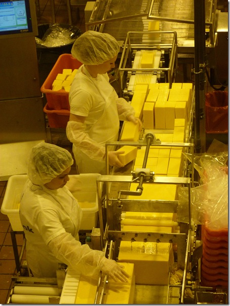 Tillamook cheese workers 3