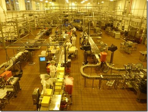 Tillamook factory floor