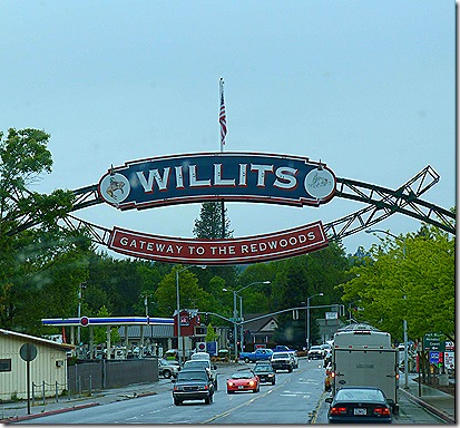 Willits sign