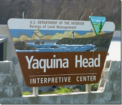 Yaquina Head Sign