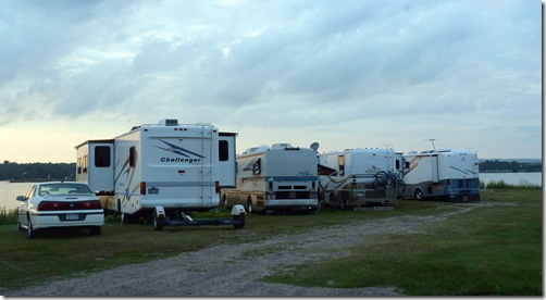 Elks lodge campground