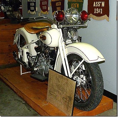 1938 Police bike