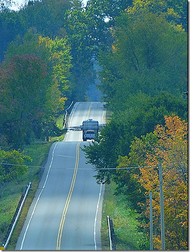 Hilly Ohio road Greg coach