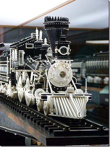 Locomotive head on
