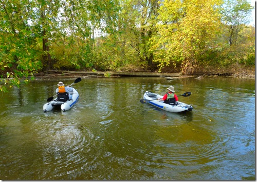 Paddling Mohican River 2