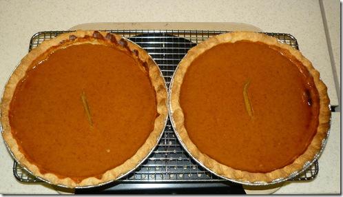 Pumpkin pies 2