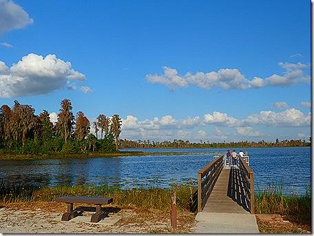 Lake Hancock dock
