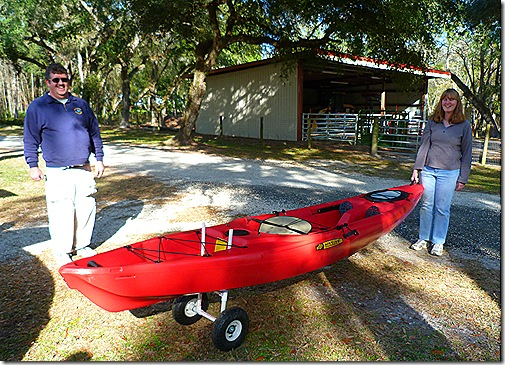 Al Karen Phillips kayak