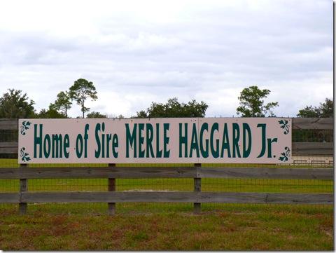 Merle Haggard sign