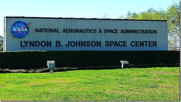 Johnson Space Center sign
