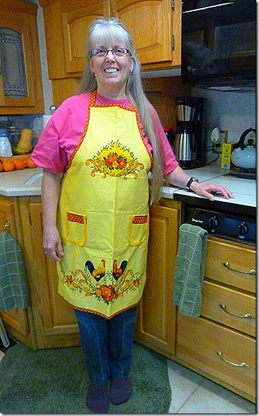 Terry apron