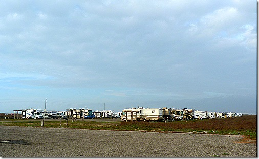 Mustang Island campground