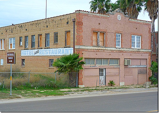 Old Hotel Restaurant building