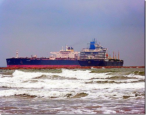 Ship inbound