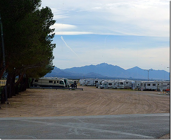 Tucson fairgrounds RV park